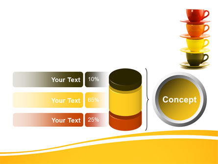 Free Cups PowerPoint Template Slide 11