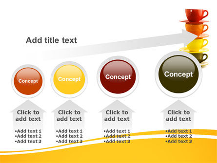 Free Cups PowerPoint Template Slide 13