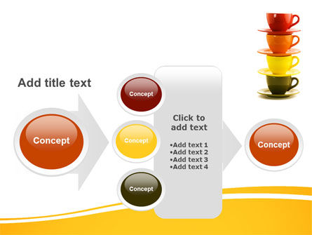 Free Cups PowerPoint Template Slide 17