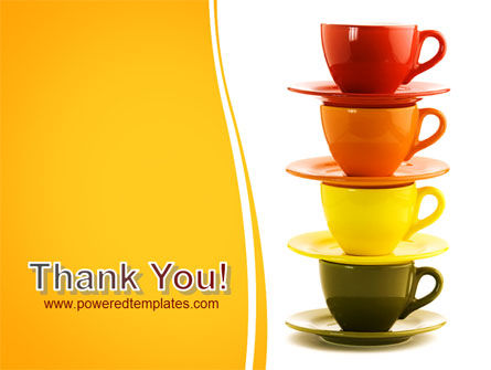 Free Cups PowerPoint Template Slide 20
