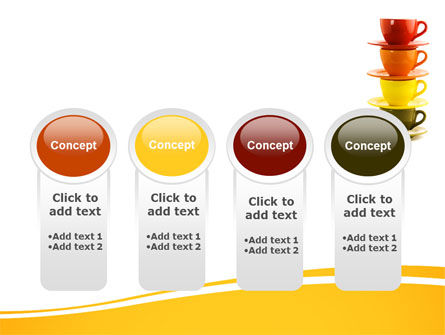 Free Cups PowerPoint Template Slide 5