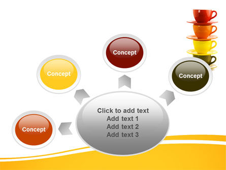 Free Cups PowerPoint Template Slide 7