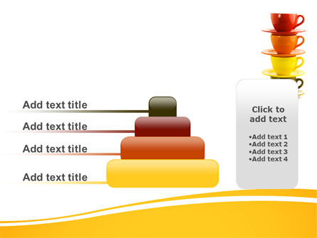 Free Cups PowerPoint Template Slide 8