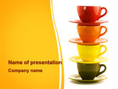 Careers/Industry: Cups Gratis Powerpoint Template #08173