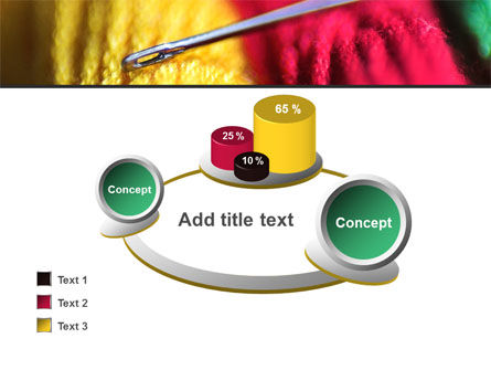 Threads and Needle Free PowerPoint Template Slide 16