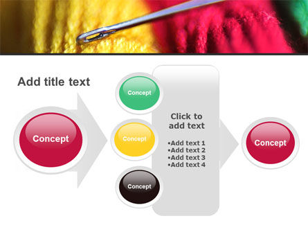 Threads and Needle Free PowerPoint Template Slide 17