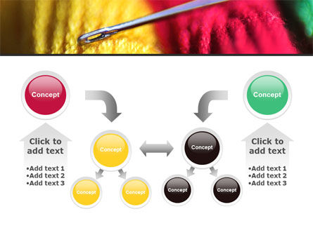 Threads and Needle Free PowerPoint Template Slide 19