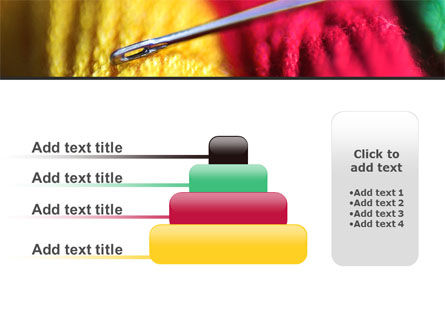 Threads and Needle Free PowerPoint Template Slide 8