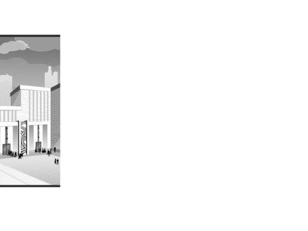 City Architecture PowerPoint Template, Slide 3, 08176, Construction — PoweredTemplate.com