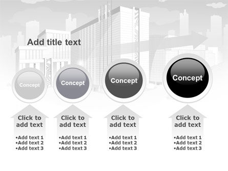 City Architecture PowerPoint Template Slide 13