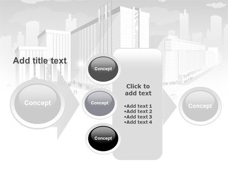 City Architecture PowerPoint Template Slide 17