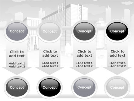 City Architecture PowerPoint Template Slide 18