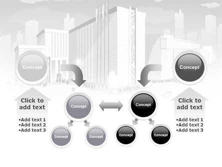 City Architecture PowerPoint Template Slide 19