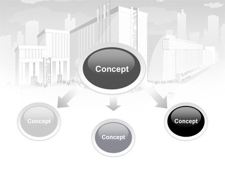 City Architecture PowerPoint Template Slide 4