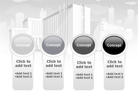 City Architecture PowerPoint Template Slide 5