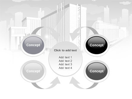 City Architecture PowerPoint Template Slide 6
