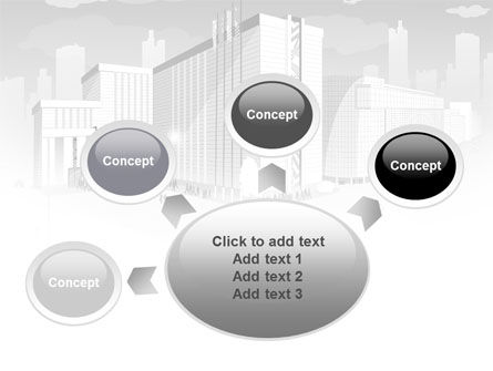 City Architecture PowerPoint Template Slide 7