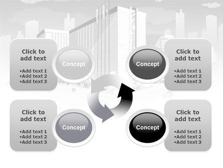 City Architecture PowerPoint Template Slide 9