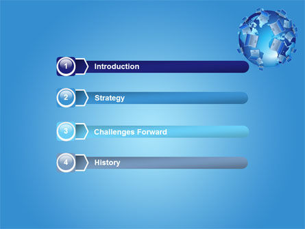 Laptop World PowerPoint Template, Slide 3, 08177, Computers — PoweredTemplate.com