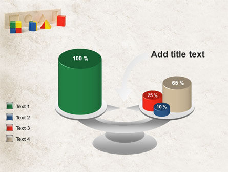 Fraction Toys PowerPoint Template Slide 10