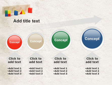 Fraction Toys PowerPoint Template Slide 13