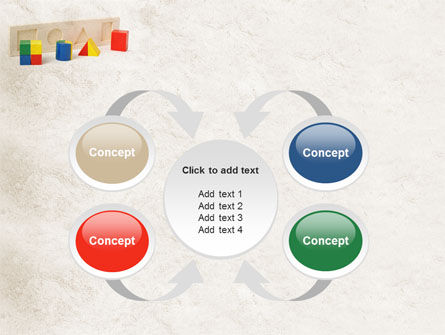Fraction Toys PowerPoint Template Slide 6