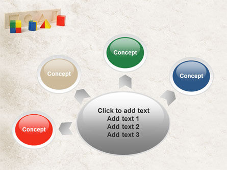 Fraction Toys PowerPoint Template Slide 7