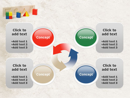 Fraction Toys PowerPoint Template Slide 9