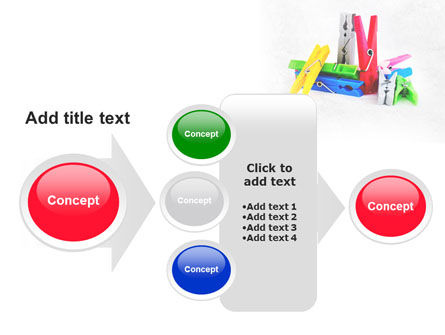Clothespin PowerPoint Template Slide 17