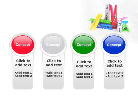 Clothespin PowerPoint Template Slide 5