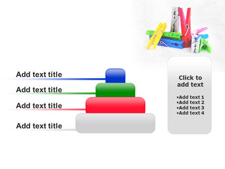 Clothespin PowerPoint Template Slide 8
