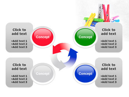 Clothespin PowerPoint Template Slide 9