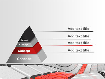 Keyboard Red Line PowerPoint Template Slide 12
