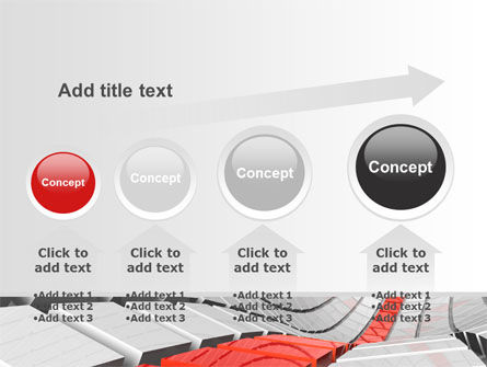 Keyboard Red Line PowerPoint Template Slide 13