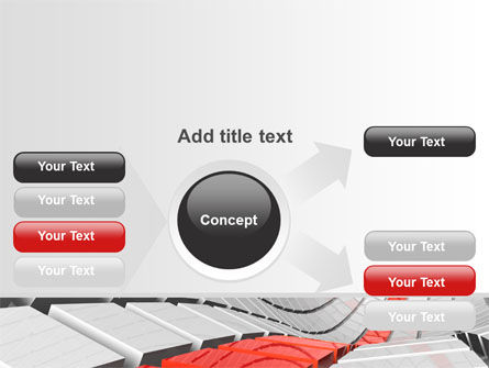 Keyboard Red Line PowerPoint Template Slide 14