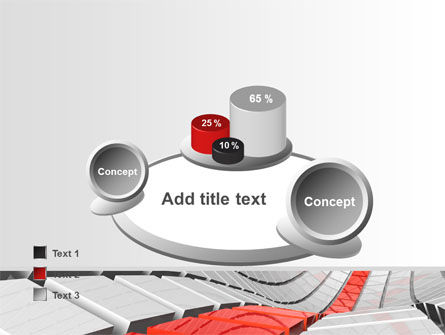 Keyboard Red Line PowerPoint Template Slide 16