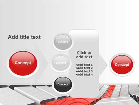 Keyboard Red Line PowerPoint Template Slide 17