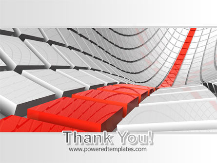 Keyboard Red Line PowerPoint Template Slide 20