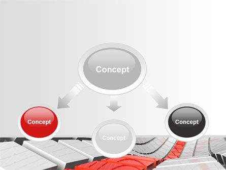 Keyboard Red Line PowerPoint Template, Slide 4, 08183, Business Concepts — PoweredTemplate.com