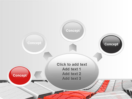 Keyboard Red Line PowerPoint Template Slide 7