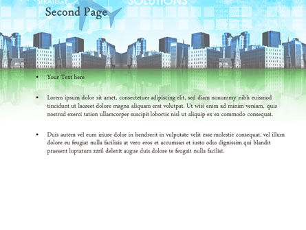 Trans International Services PowerPoint Template, Slide 2, 08187, Consulting — PoweredTemplate.com