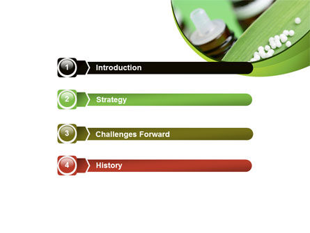 Homeopathic Remedy PowerPoint Template, Slide 3, 08188, Medical — PoweredTemplate.com