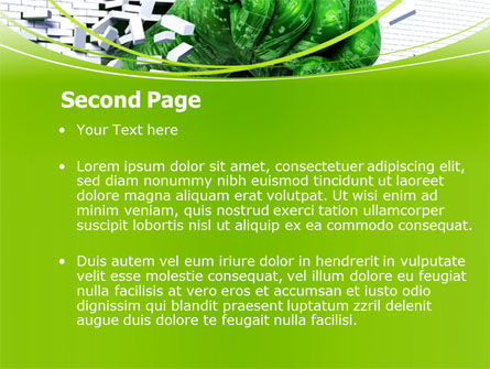 Technological Breakthrough PowerPoint Template, Slide 2, 08191, Technology and Science — PoweredTemplate.com
