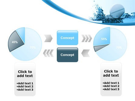 Tablets In Water PowerPoint Template Slide 11