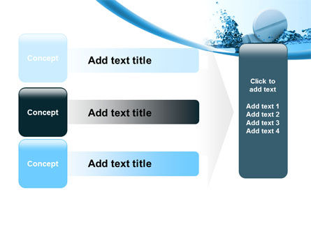 Tablets In Water PowerPoint Template Slide 12