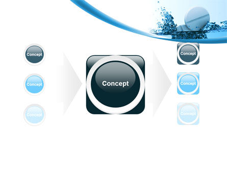 Tablets In Water PowerPoint Template Slide 17