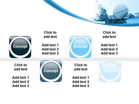 Tablets In Water PowerPoint Template Slide 19