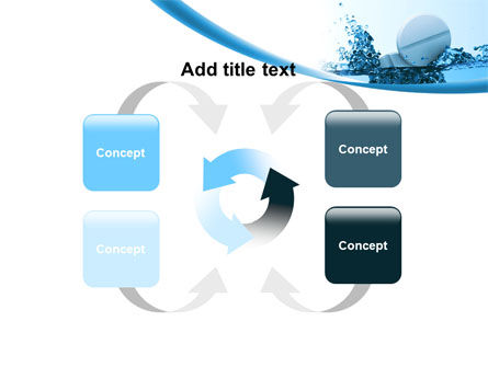 Tablets In Water PowerPoint Template Slide 6