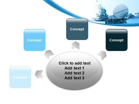 Tablets In Water PowerPoint Template Slide 7