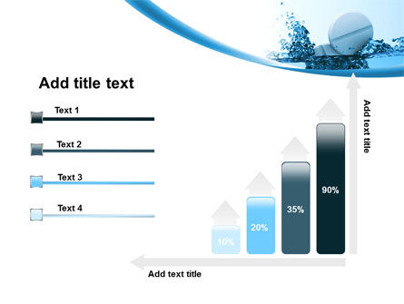 Tablets In Water PowerPoint Template Slide 8